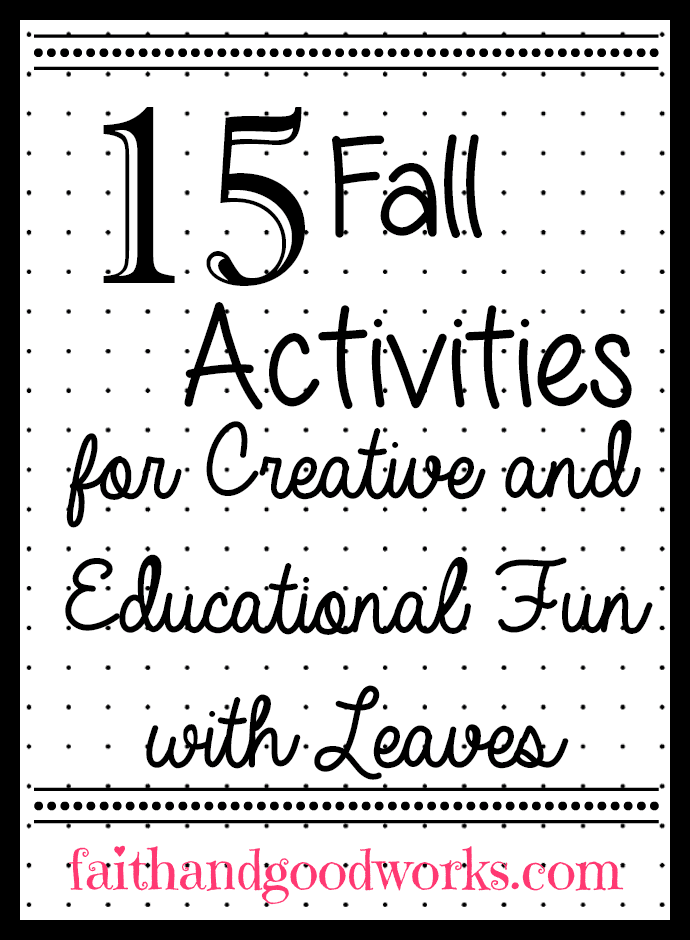fall activities