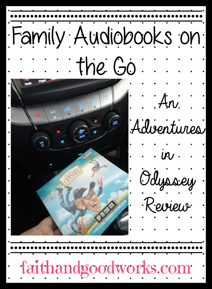 Family Audiobooks on the Go: An Adventures in Odyssey Review