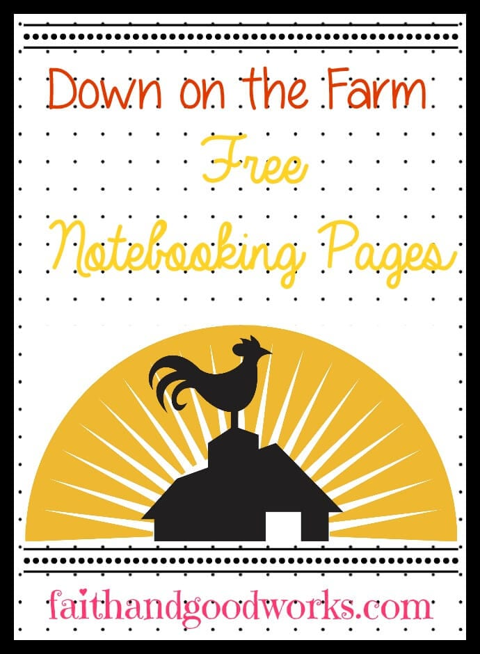 Down On the Farm {Unit Study Resource Round Up}