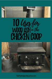 wood ash for chickens