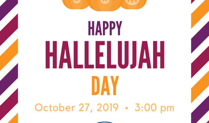 Happy Hallelujah Day, Oct 27, 2019