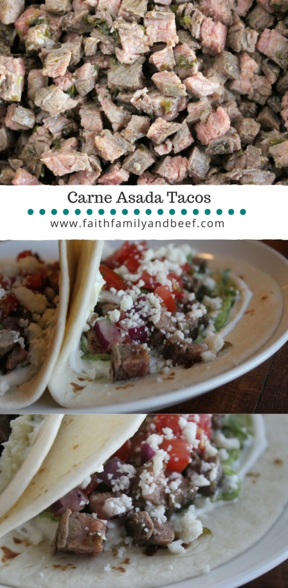 "Carne Asada Tacos - I don't want to brag, but these tacos have been described as ""life-changing."""
