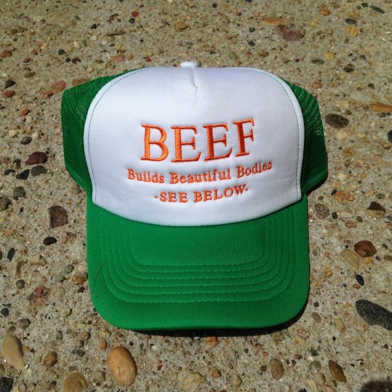 Kelly Green Beef Hat