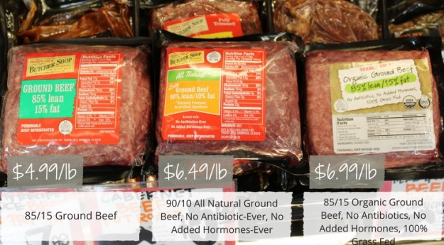 Where Can You Buy Beef Without Hormones? - Trader Joe's ground beef options. All safe. All nutritious. All delicious!