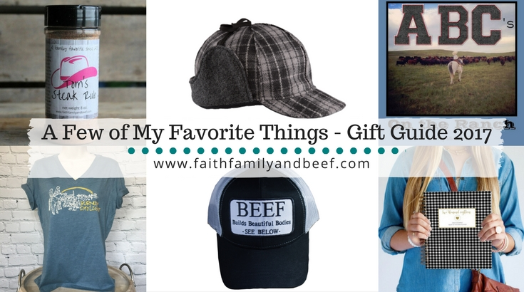 A Few of My Favorite Things – Gift Guide 2017