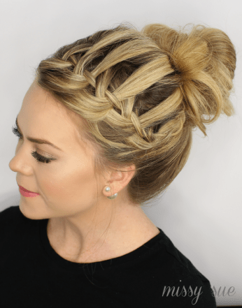 waterfall-top-knot