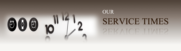 Our Service Times   Faith Fellowship Community Church Our Service Times