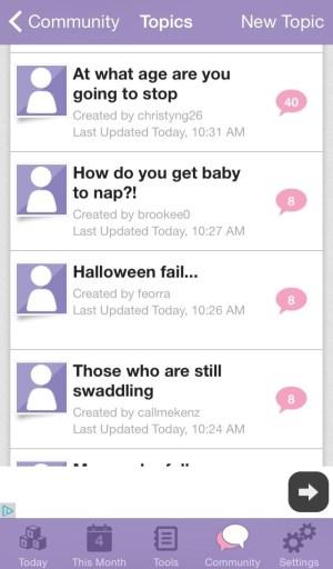 Top 5 iPhone Apps for New Moms- faithfilledmotherhood.com