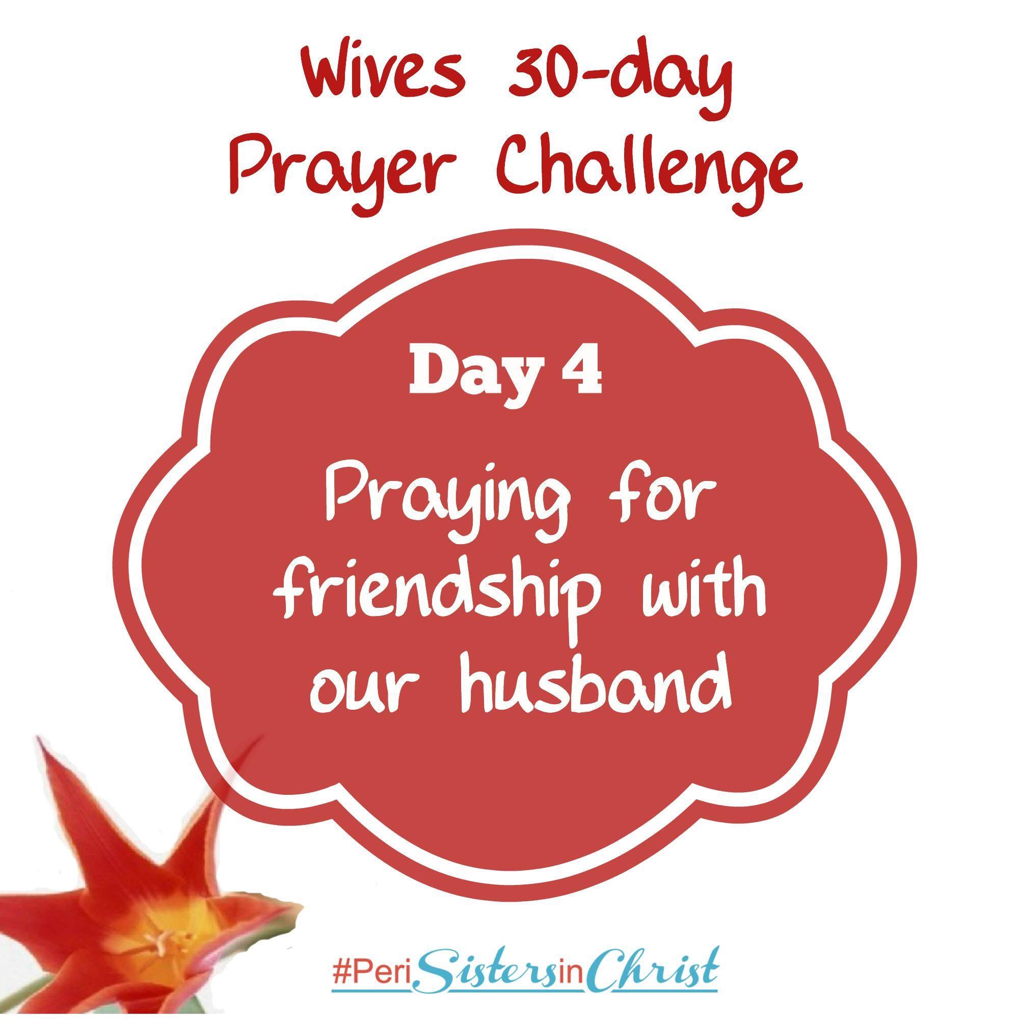 Marriage Prayer Challenge Day 4