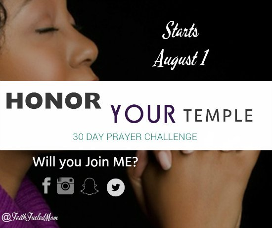 Honor Your Temple