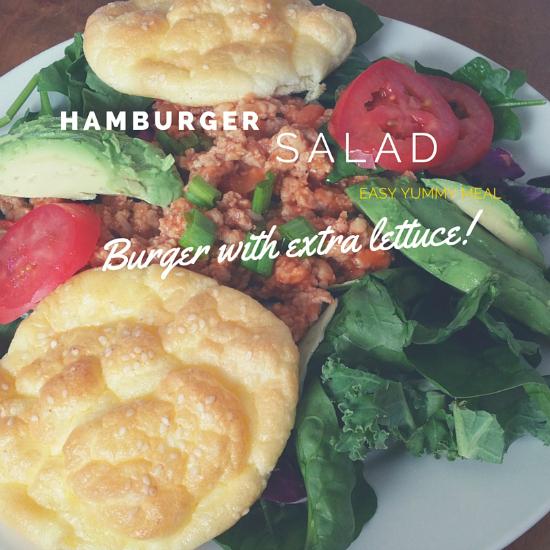 hamburgersalad