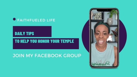 FaithFueled Life Facebook Group