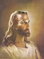 Warner Sallman's Head of Christ painting