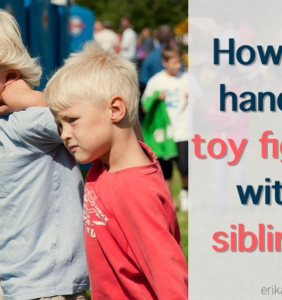 How to Handle the Conflict Over Toys