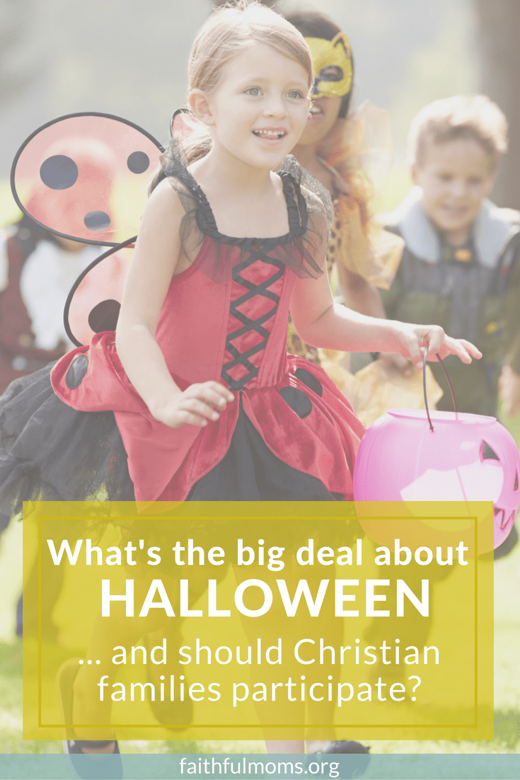 SO appreciate these thoughts // Christians and halloween -- should we celebrate?