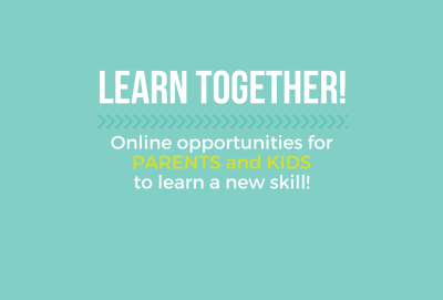 great online learning options for parents and kids!!