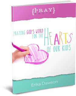 love this resource for praying for our kids!!