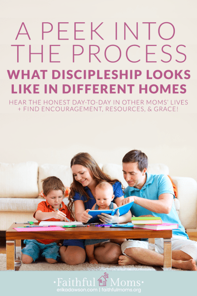HONEST suggestions about how to disciple our kids