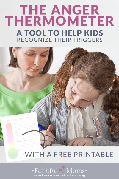 Anger Thermometer – A tool to help kids