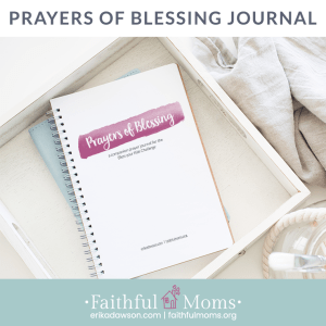 this prayer journal has been so helpful in praying for my kids!!