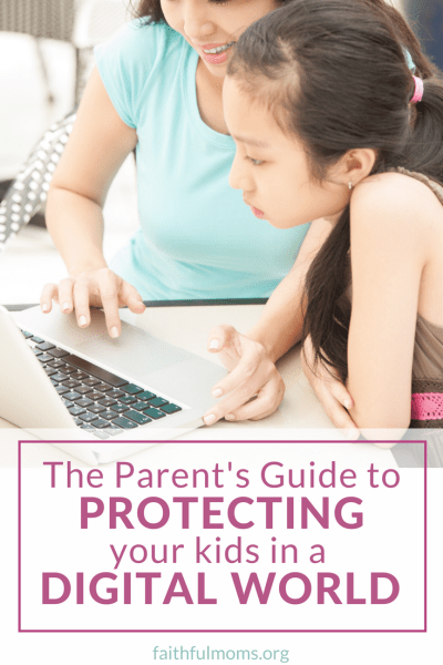 so helpful & PRACTICAL!!! // Parent's Guide to protecting your kids in a digital world