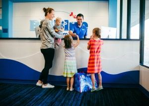 Big Blue Swim School makes swim lessons EASY for parents