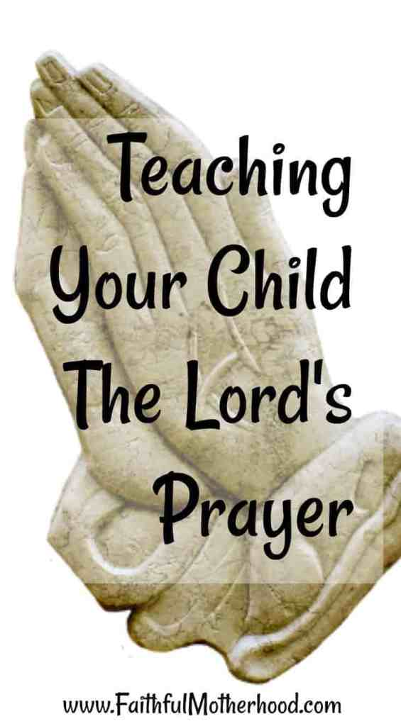 Hands In Prayer Teach Your Child The Lords