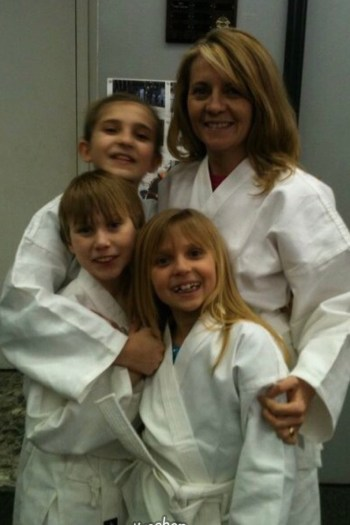 Faithful Ninja Momma First Martial Arts Picture
