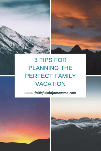 Family Vacation Plan