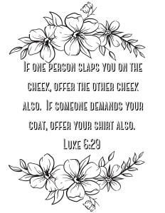 Luke 6:29