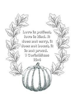 1 Corinthians 13:4