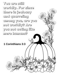 1 Corinthians 3:3
