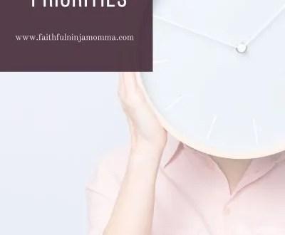 Setting Priorities in Life Woman