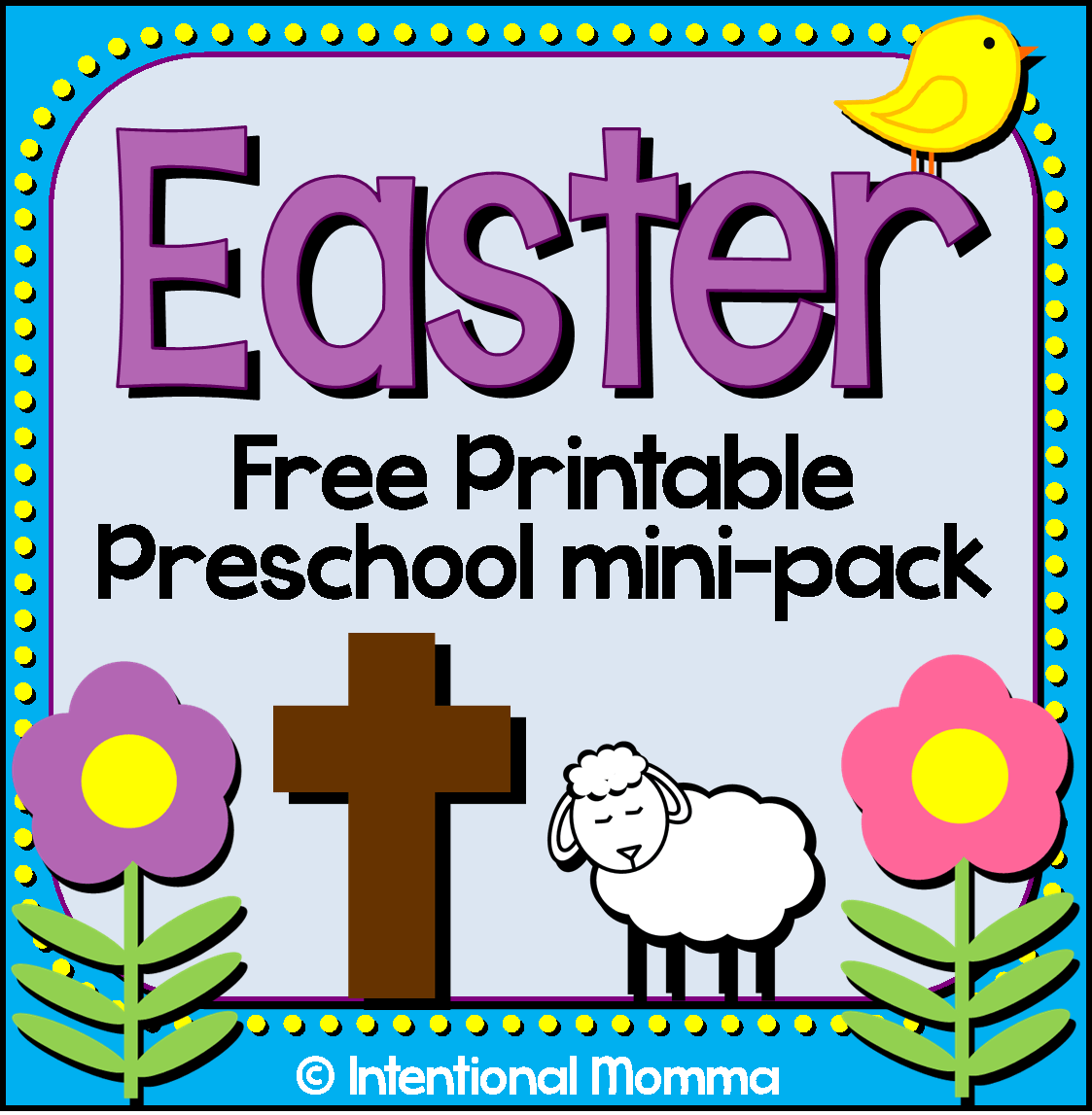 Free Printable Easter Mini Pack For Preschool