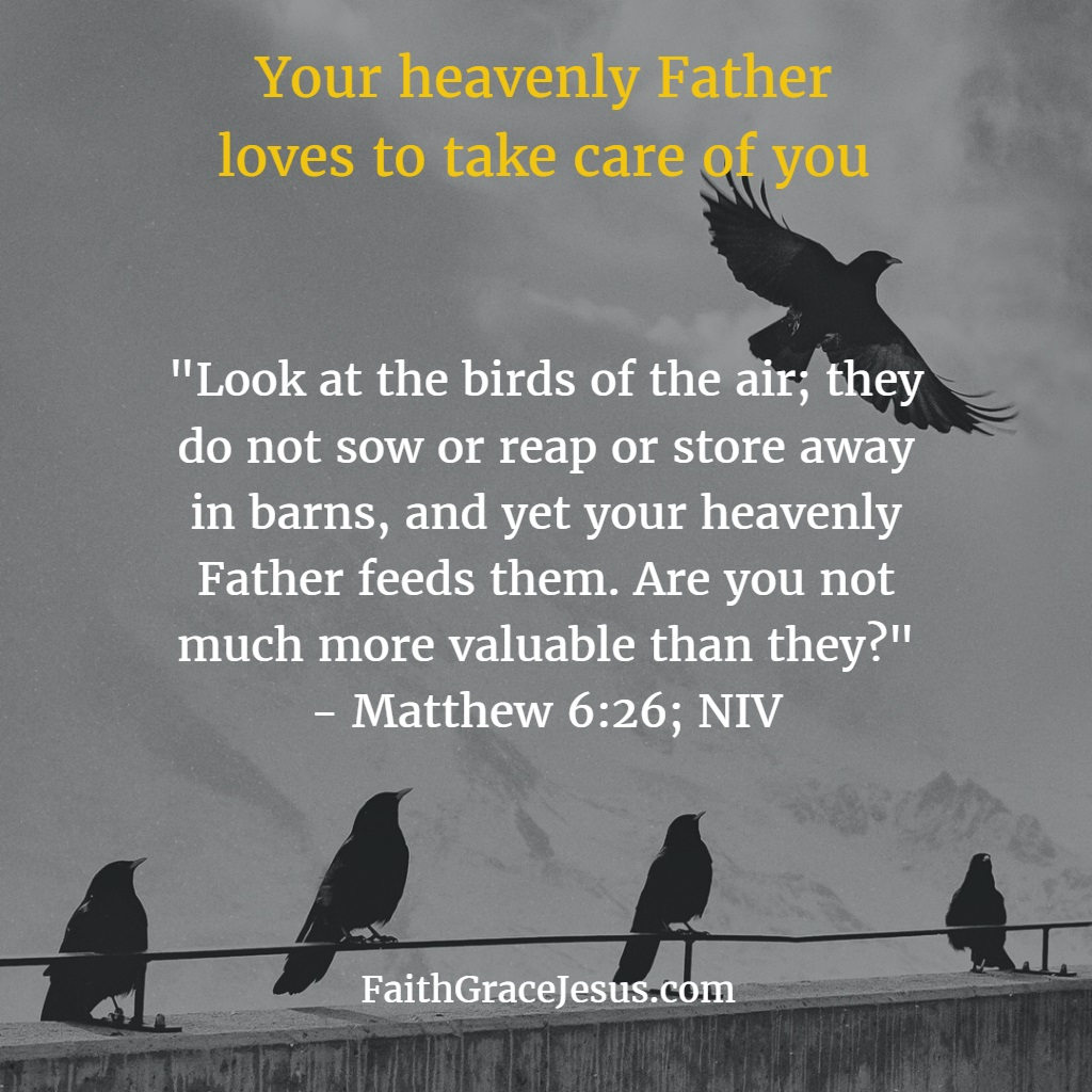 Your Heavenly Father Loves To Care For You
