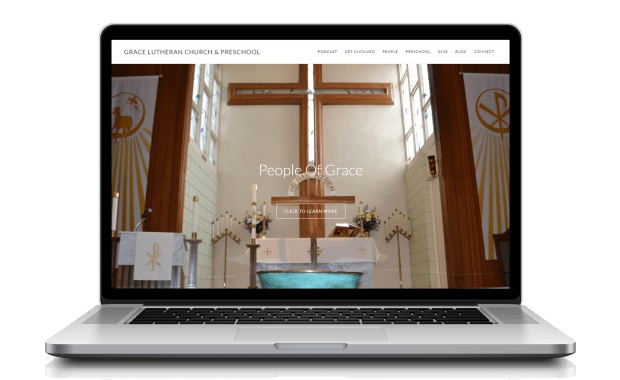 Grace Lutheran Upland Website