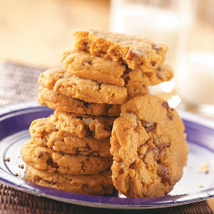 Pecan Butterscotch Cookies | Faith, Hope, Love, and Luck Survive Despite a Whiskered Accomplice