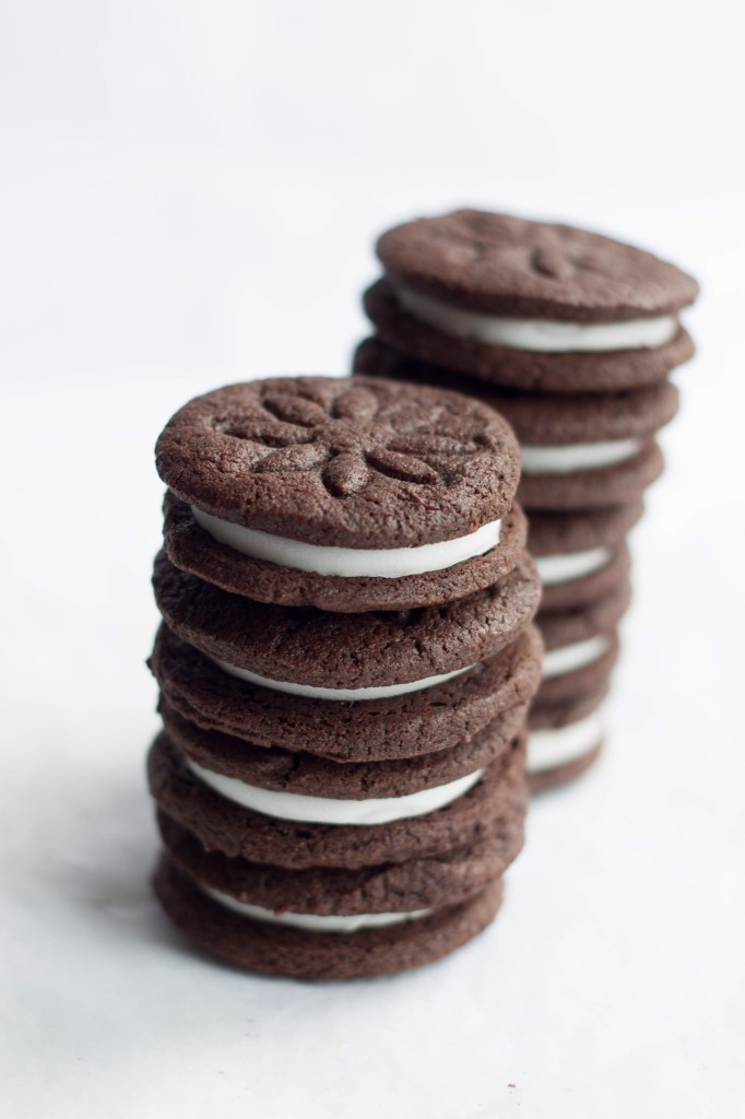 Homemade Oreos | Faith, Hope, Love, and Luck Survive Despite a Whiskered Accomplice