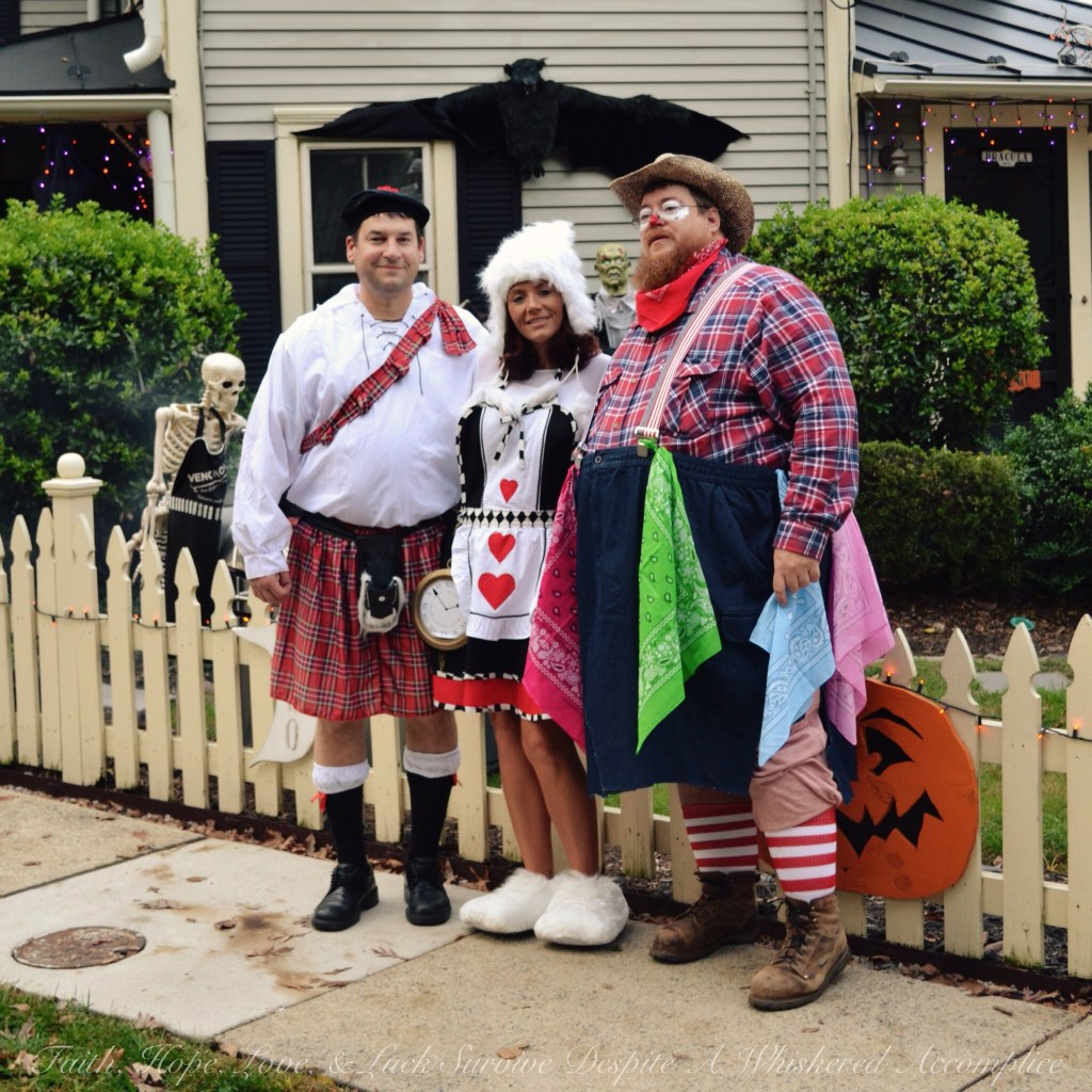 The Scot, The White Rabbit, and The Rodeo Clown | Faith, Hope, Love, and Luck Survive Despite a Whiskered Accomplice