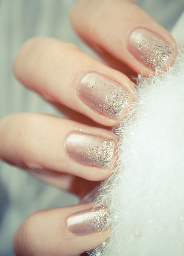 20 Sparkly DIY Manis for the Holidays | Faith, Hope, Love, and Luck Survive Despite a Whiskered Accomplice
