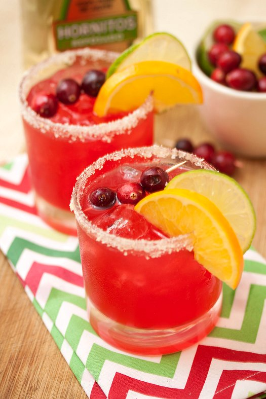 Cranberry Margaritas | Faith, Hope, Love, and Luck Survive Despite a Whiskered Accomplice