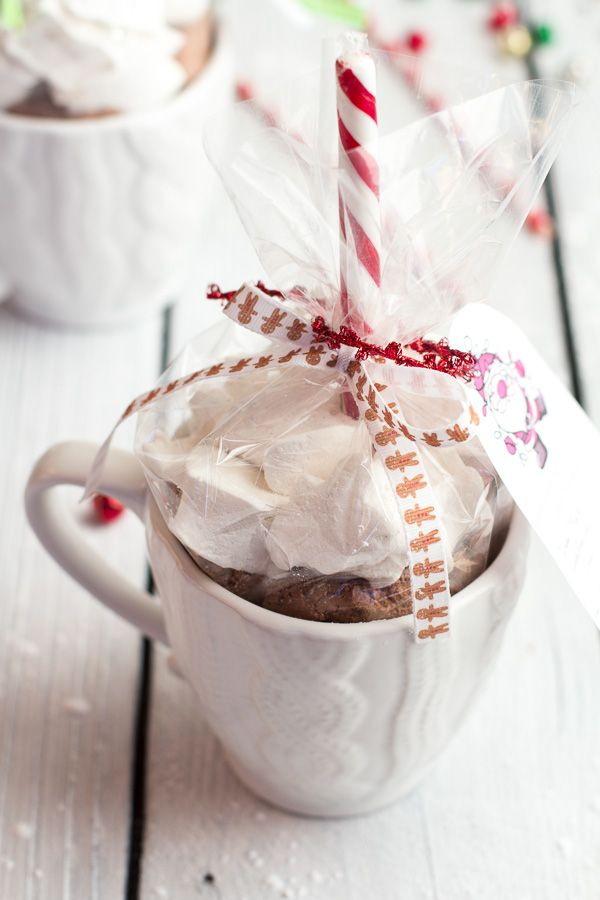 Easy Double Chocolate Vanilla Bean Hot Cocoa Mugs and Marshmallows | Faith, Hope, Love, and Luck Survive Despite a Whiskered Accomplice