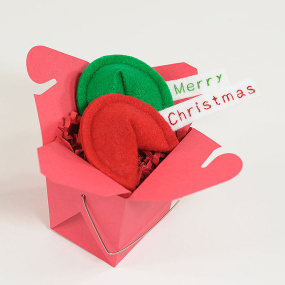 Merry Christmas Fortune Cookie Catnip | Faith, Hope, Love, and Luck Survive Despite a Whiskered Accomplice