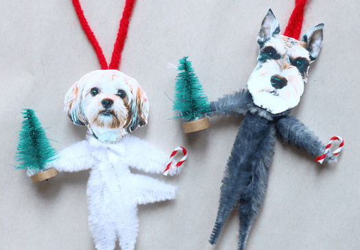 Ornament Tutorial | Faith, Hope, Love, and Luck Survive Despite a Whiskered Accomplice