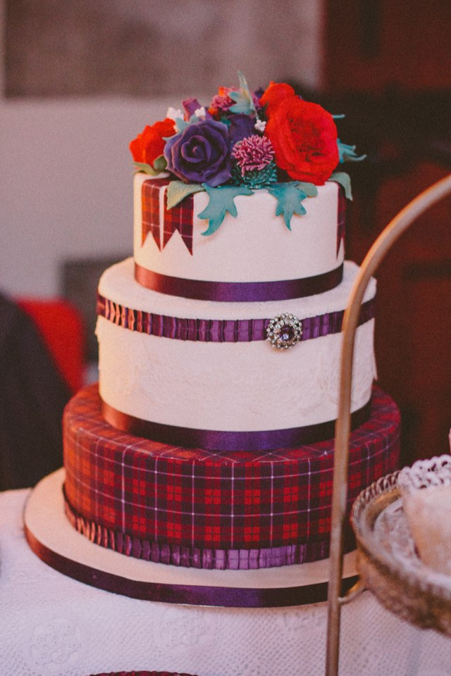 Tartan Cake | Faith, Hope, Love, and Luck Survive Despite a Whiskered Accomplice