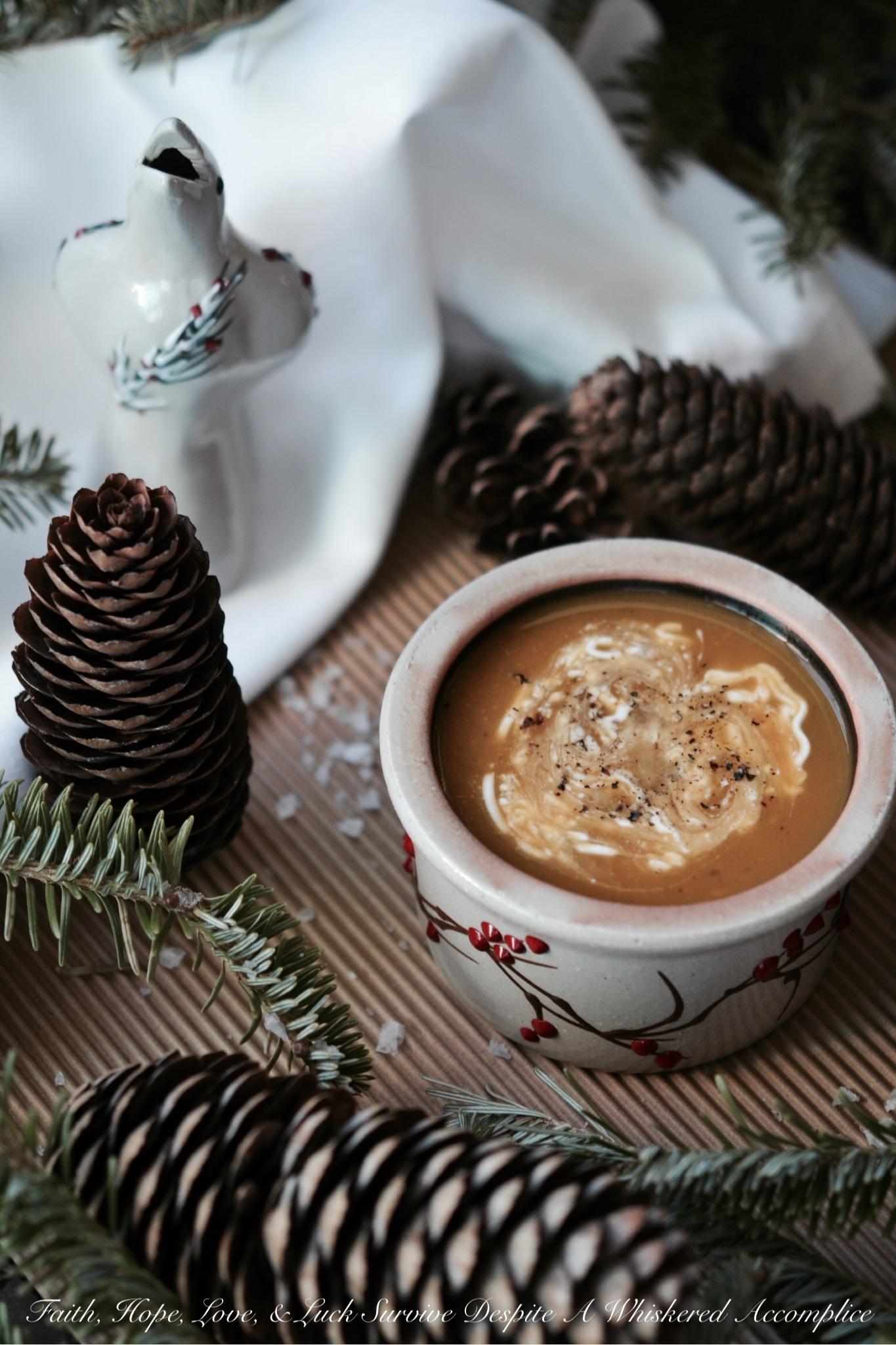 Winter's Healing Sweet Potato Soup