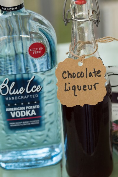 Homemade DIY Chocolate Liqueur | Faith, Hope, Love, and Luck Survive Despite a Whiskered Accomplice