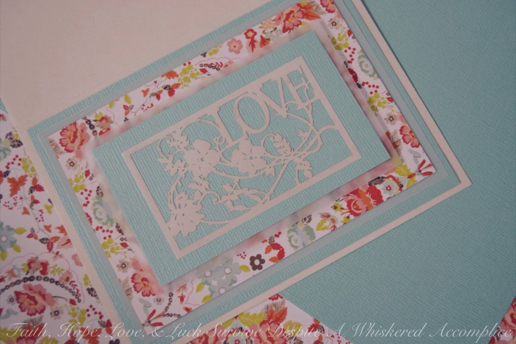 Irish Blessing Wedding Card | Faith, Hope, Love, and Luck Survive Despite a Whiskered Accomplice