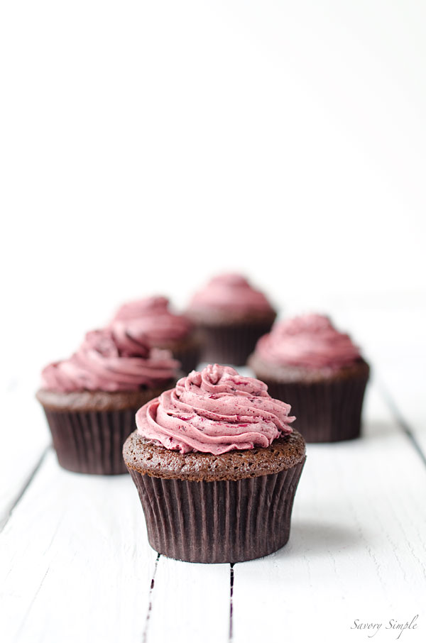 Chocolate Cherry Cupcakes | Faith, Hope, Love, and Luck Survive Despite a Whiskered Accomplice