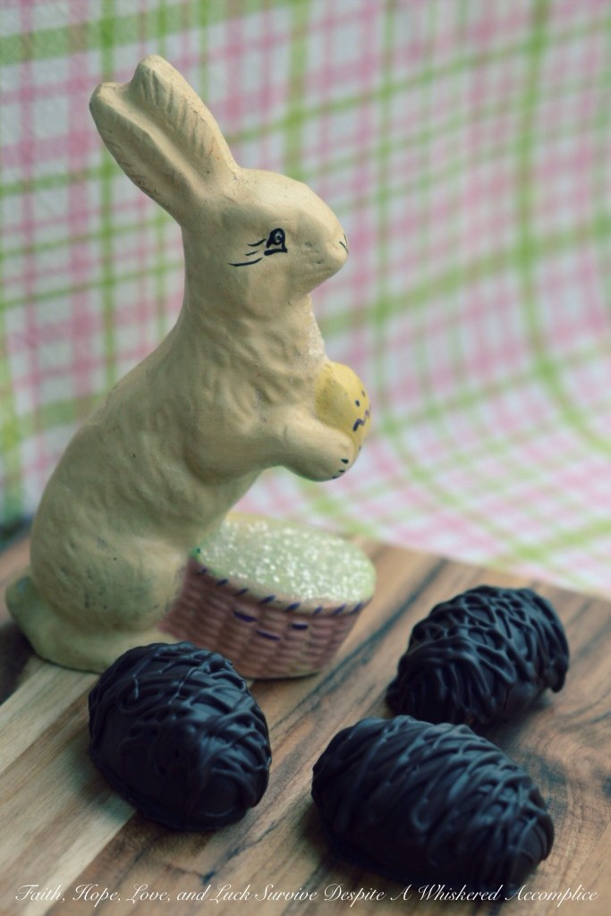 Butterfinger Easter Eggs | Faith, Hope, Love, and Luck Survive Despite a Whiskered Accomplice
